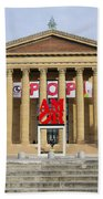 Amore - The Philadelphia Museum Of Art Bath Towel