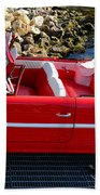 Amphicar Red  Bath Towel