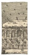 Amphitheater Of Verona Bath Towel