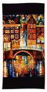 Amsterdam - Little Bridge Bath Towel