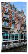 Amsterdam Holland Canal Hotel Restaurant Bath Towel