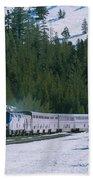 Amtrak 112 1 Bath Towel by Jim Thompson