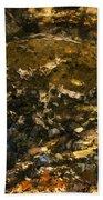 An Abstract Fall Reflection Bath Towel