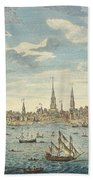 An East Prospective View Of The City Of Philadelphia Bath Towel