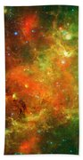 An Extended Stellar Family - North American Nebula Bath Towel