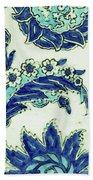 An Iznik Blue And White Pottery Tile, Turkey, 17th Century, By Adam Asar, No 18b Bath Towel