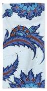 An Iznik Polychrome Pottery Tile, Turkey, Circa 1570-85, By Adam Asar, No 18 Bath Towel