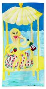 An Octopus Summerhouse Bath Towel
