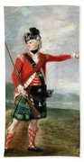 An Officer Of The Light Company Of The 73rd Highlanders Hand Towel