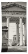 Analog Black And White Photography - Milan - Porta Ticinese Bath Towel