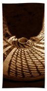 Anasazi Butterfly Pot Bath Towel
