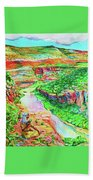 Ancient One Views River Hand Towel