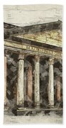 Ancient Pantheon Bath Towel
