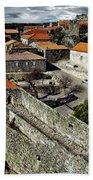 Ancient Portuguese Cities Bath Towel