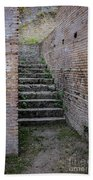 Ancient Stairs Rome Italy Bath Towel