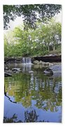 Anderson Falls, Indiana Bath Towel