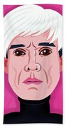 Andy Warhol Bath Towel