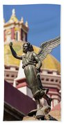 Angel And Cathedral Bath Towel