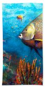 Angel Fish Bath Towel