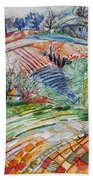 Angel From Jacob's Ladder Bath Towel