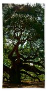 Angel Oak Tree 2004 Bath Towel