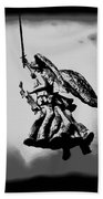 Angel Of Gettysburg Bath Towel