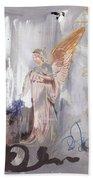 Angel Writing Doodles In Spirit Hand Towel