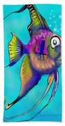 Angelfish Bath Towel