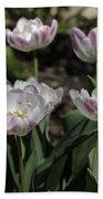 Angelique Peony Tulips Squared Bath Towel