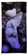 Angels And Fireflies Bath Towel