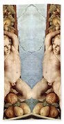 Angels And Pears Bath Towel