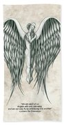 Angels Bath Towel