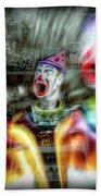 Angry Clowns Bath Towel