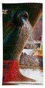 Anichkov Bridge Bath Towel