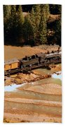 Animas River Crossing Bath Towel