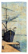 Ankerplaats 1885 Bath Towel