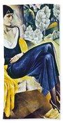 Anna Akhmatova (1889-1967) Bath Towel