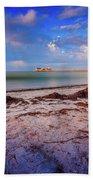 Anna Maria City Pier Bath Towel by Doug Camara