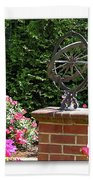 Annapolis Garden Ornament Bath Towel