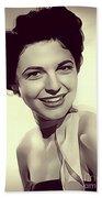 Anne Bancroft, Vintage Actress Bath Towel