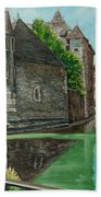 Annecy-the Venice Of France Hand Towel