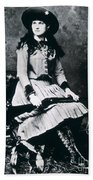 Annie Oakley  Star Of Buffalo Bill's Wild West Show Bath Towel