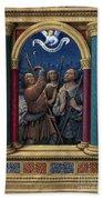 Annunciation To Shepherds Bath Towel