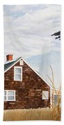 Another New England Sunrise Hand Towel