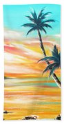 Another Sunset In Paradise Bath Towel