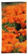 Antelope Valley California Poppies Bath Towel
