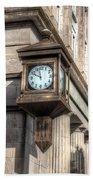 Antique Clock  Edenton North Carolina Bath Towel