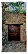 Antique Door Bath Towel