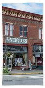 Antiques In Red Brick Hand Towel