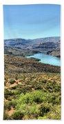 Apache Trail - Salt River - Arizona Bath Towel